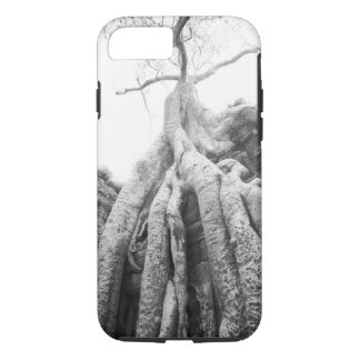 Coque iPhone 7 Angkor Cambodge, arbre merci Prohm