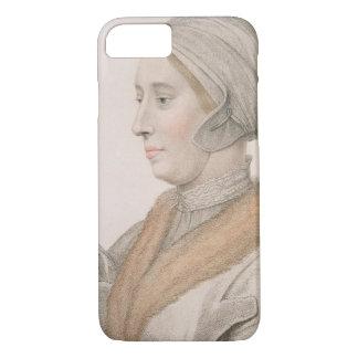 Coque iPhone 7 Anne Boleyn (1507-36) gravé par Francesco Bartol