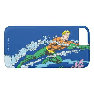 Coque iPhone 7 Aquaman saute le corail