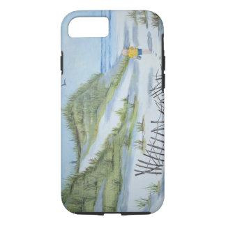 Coque iPhone 7 Aquarelle de plage