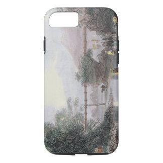 Coque iPhone 7 Aqueduc en bambou à Hong Kong, gravé par l'annonce