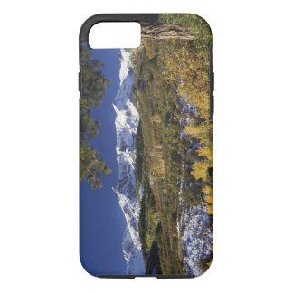 Coque iPhone 7 Arbres de montagnes et d'Aspen de San Juan dans le