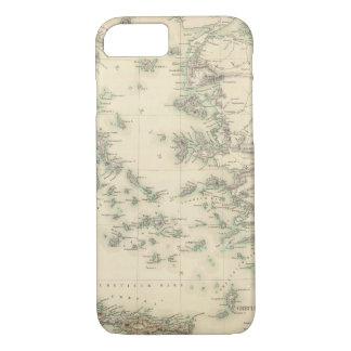 Coque iPhone 7 Archipel Grec, antique