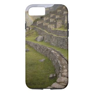 Coque iPhone 7 Arcs-en-ciel au-dessus des terrasses agricoles,