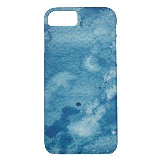 Coque iPhone 7 Arrière - plan abstrait d'aquarelle