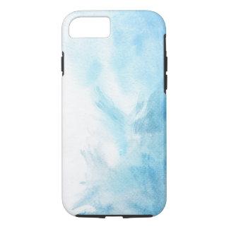 Coque iPhone 7 arrière - plan coloré d'aquarelle pour le votre