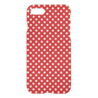 Coque iPhone 7 Arrière - plan de point de polka
