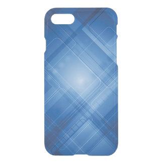 Coque iPhone 7 Arrière - plan de pointe bleu-foncé