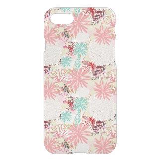 Coque iPhone 7 Arrière - plan floral 4