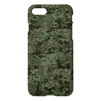 Coque iPhone 7 Arrière - plan profond de Camo en bois