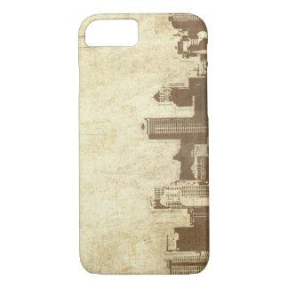 Coque iPhone 7 Arrière - plan sale de ville