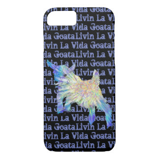 Coque iPhone 7 Art animal drôle de Vida Goata de La de Livin de