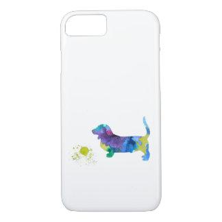 Coque iPhone 7 Art de chien de basset