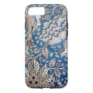 Coque iPhone 7 Art de cru de conception de papier peint floral de
