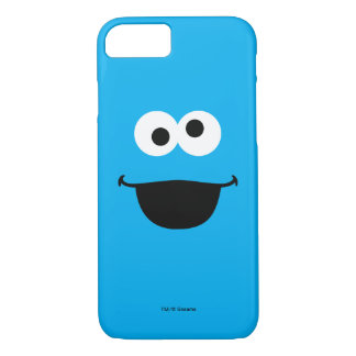 Coque iPhone 7 Art de visage de biscuit