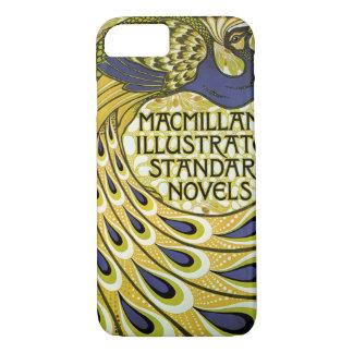 Coque iPhone 7 Art vintage Nouveau, plume du paon de Macmillan