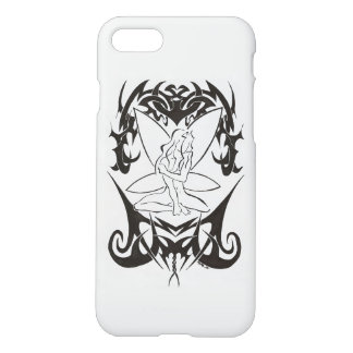 "Coque iPhone 7 (aspect mat) ""Fée Tribal"""