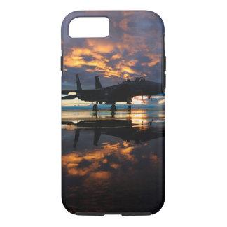 Coque iPhone 7 Avion d'avion de chasse aux cadeaux de militaires
