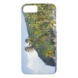 Coque iPhone 7 Baie de Marigot, St Lucia, des Caraïbes