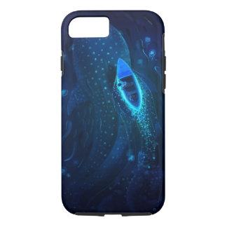 Coque iPhone 7 Baleine et bateau