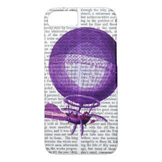 Coque iPhone 7 Ballon à air chaud (pourpre) d'hydrogène de