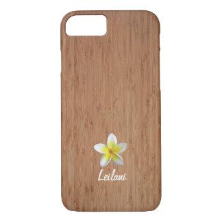 Coque iPhone 7 bambou de cas de l'iPhone 7