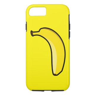 Coque iPhone 7 Banane jaune