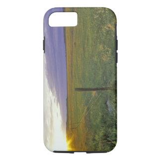 Coque iPhone 7 Barbelé Fenceline au Montana du nord-est