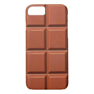 Coque iPhone 7 Barre de Brown de chocolat