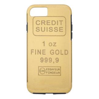 Coque iPhone 7 Barre d'or de Swidd