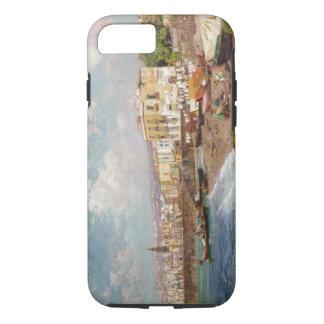 Coque iPhone 7 Bateaux de pêche sur la plage chez Marinella,