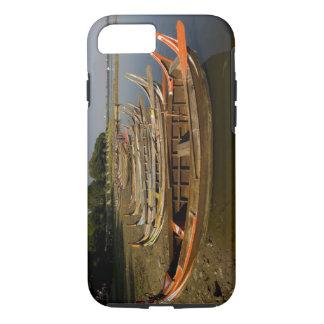 Coque iPhone 7 Bateaux sur le lac entre Kyauktawgyi Paya et