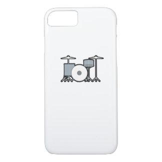 Coque iPhone 7 Batteur de tambours battant du tambour du cadeau
