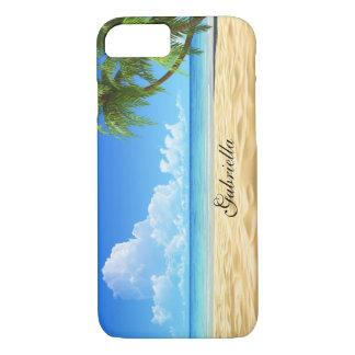 Coque iPhone 7 Beau cas de l'iPhone 7 de plage