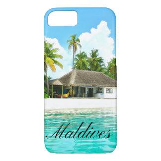Coque iPhone 7 Beau paysage des Maldives