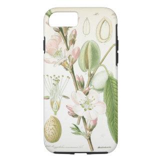 Coque iPhone 7 Belle antiquité florale vintage de fleur botanique