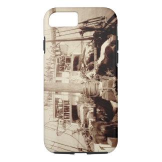 """Coque iPhone 7 Bétail d'expédition sur """"W.G. Hall"""", Hawaï, 1890s"""