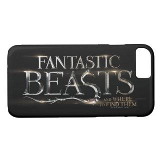 Coque iPhone 7 Bêtes fantastiques et où les trouver logo