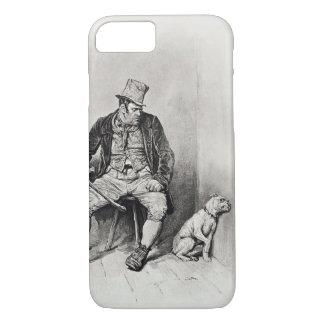 Coque iPhone 7 Bill Sykes et son chien, de 'Charles Dickens : UN