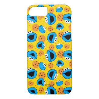 Coque iPhone 7 Biscuit Monter et motif de biscuits