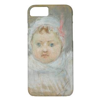 Coque iPhone 7 Blanche Pontillon en tant que bébé, 1872 (en