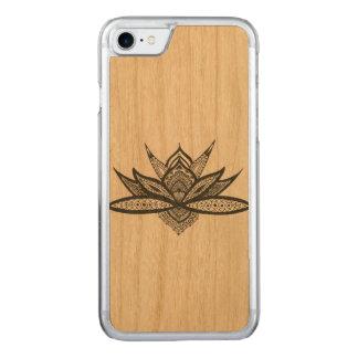 Coque iPhone 7 bois mandala