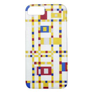 Coque iPhone 7 Boogie Woogie de Piet Mondrian Broadway