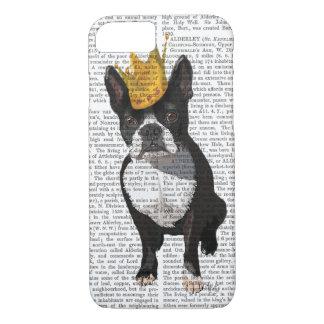 Coque iPhone 7 Boston Terrier et couronne