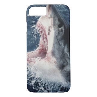 Coque iPhone 7 Bouche élevée de requin ouverte