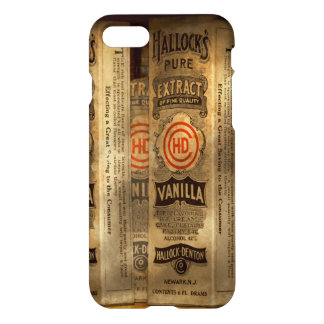 Coque iPhone 7 Boulangerie - extrait de vanille pur de Hallocks