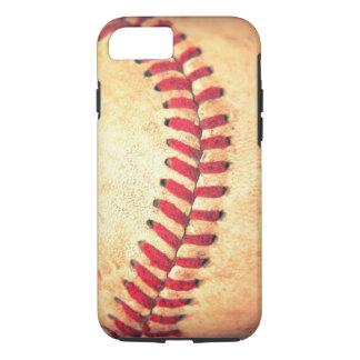 Coque iPhone 7 Boule vintage de base-ball