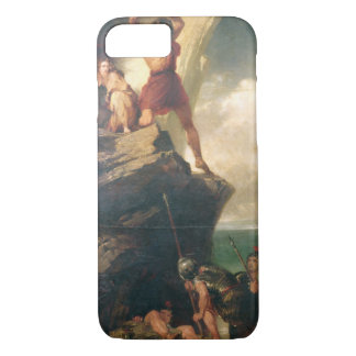 Coque iPhone 7 Britanniques repoussant des Romains de