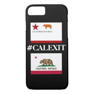 Coque iPhone 7 Caisse actuelle historique de drapeau de Calexit