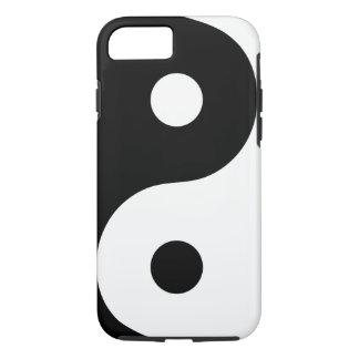 Coque iPhone 7 Caisse blanche de téléphone de Yin Yang